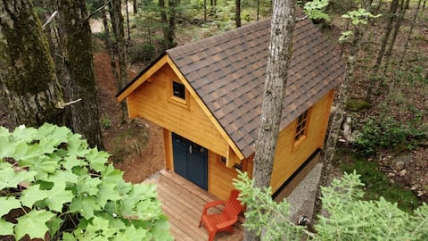 Elm 8 Cabin -Haliburton, Tiny Home Winter Glamping