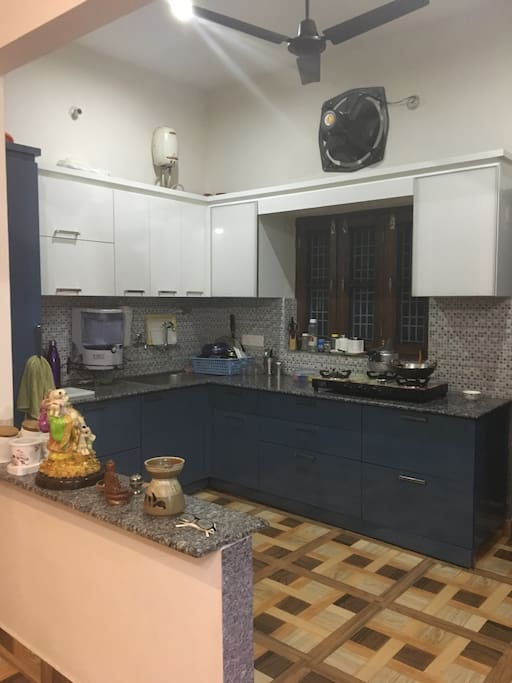 Hygienic open kitchen