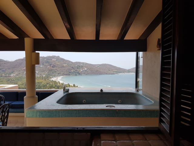 Zihua´s best view Penthouse - Zihuatanejo - 公寓
