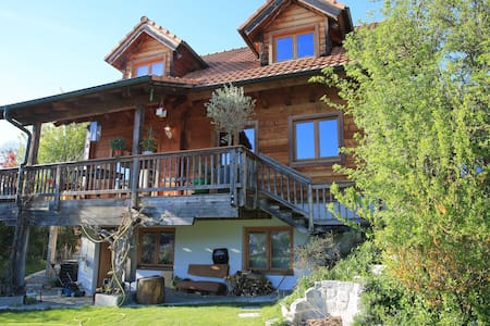 Blockhouse with 3, max 4 bedrooms - Therwil - Casa