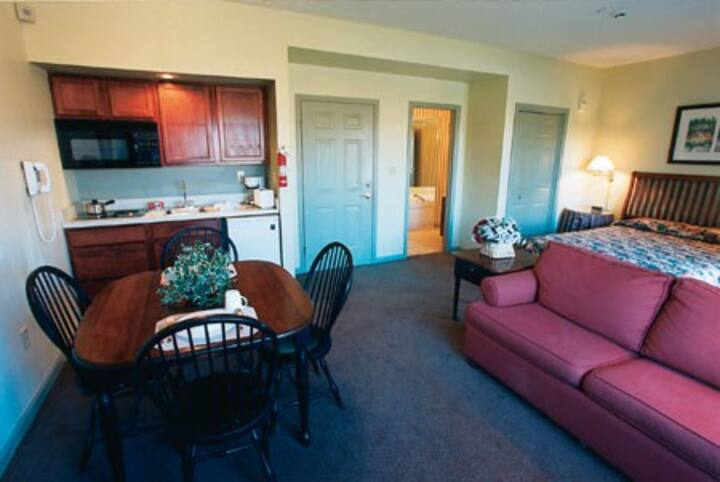 COZY Studio-Pocono Mtn Villas w Kitchenette -4 ppl