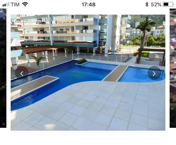 Apartamento de Praia em um belo condominio!