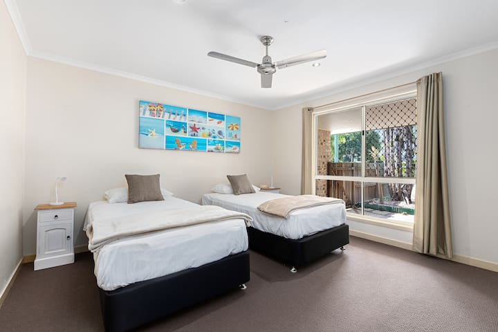 3rd Bedroom with AirCon