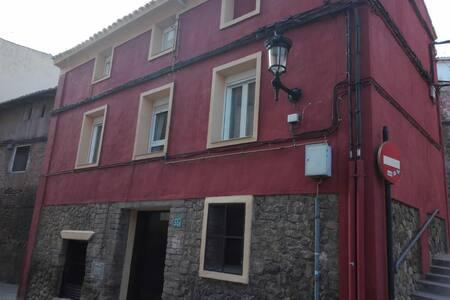Una casa de 100 años, rehabilitada y muy cómoda.