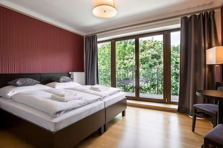 Standard Double Room with Balcony and River View
