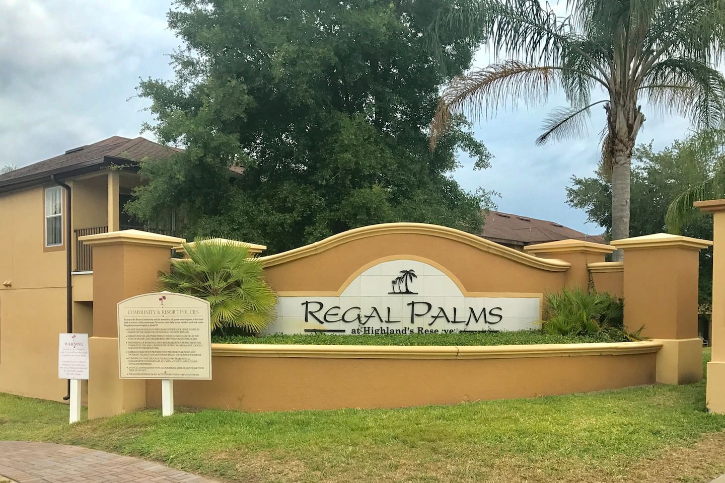Regal Palms Resort is a beautiful gated community
