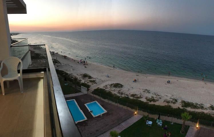 Best Beachfront view, terrace penthouse apartment.