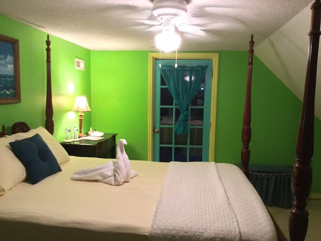 Paradise Found Key Lime Suite