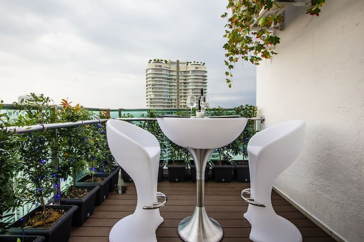 Georgetown 2br Suite [Twin Private Seaview Skybar]