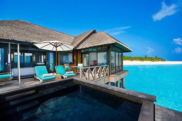 JA Manafaru- Sunset Water Villa with Infinity Pool