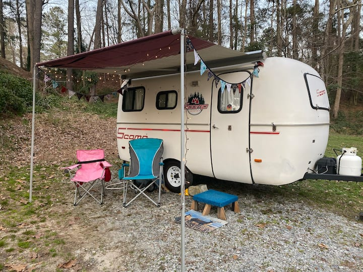 Scamp Camper in Stone Mtn Park! Or other site
