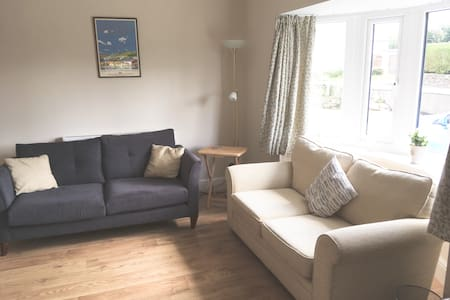 Holiday let near Porthmadog, cosy all year round.