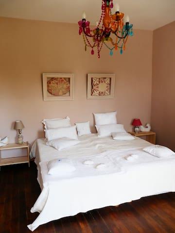 Chambre 1- 2 lits 90x200 rapprochés