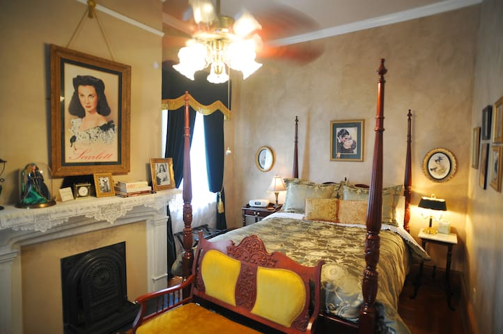 The Scarlett O'Hara Room is a favorite of many guests.
