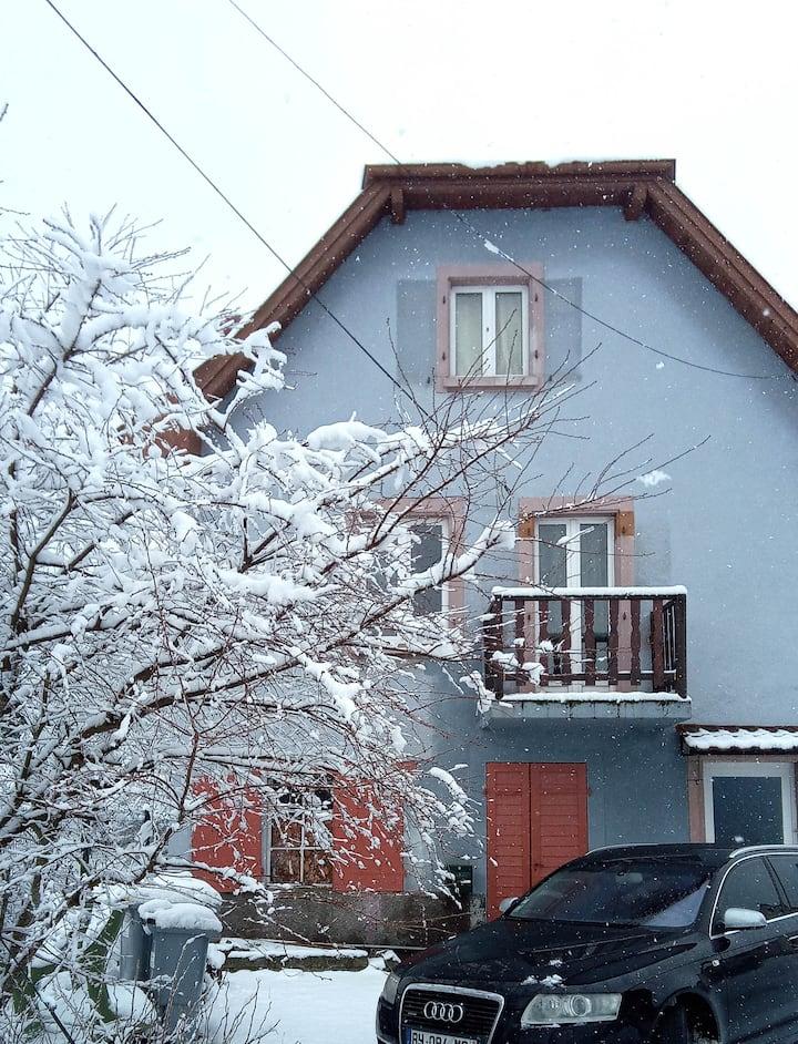 Le Hohwald: casa cerca del bosque