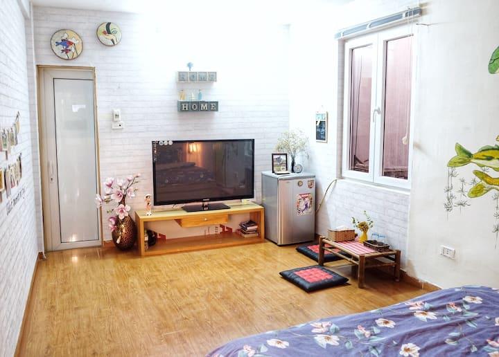 Bright, stylish room in HaNoi city centre