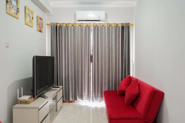 2BR w/ City View @ Grand Palace Kemayoran Apt