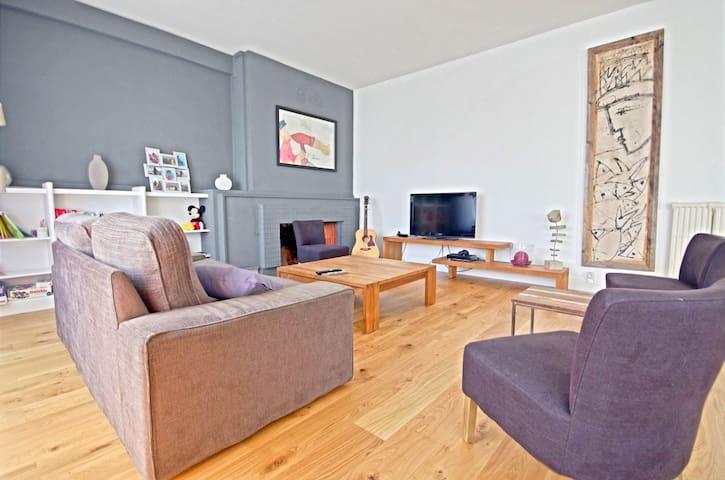 Grand appartement moderne, hyper-centre de Lorient - Lorient - Huoneisto