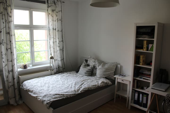 Schönes Zimmer in der Dresdner Neustadt - Dresde - Appartement