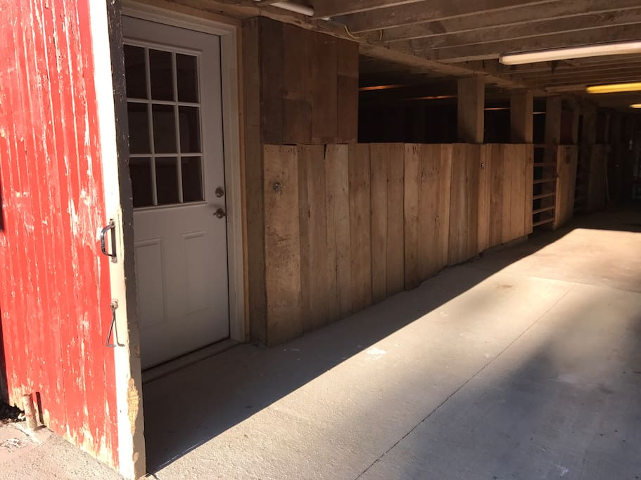 Carriage House Entrance