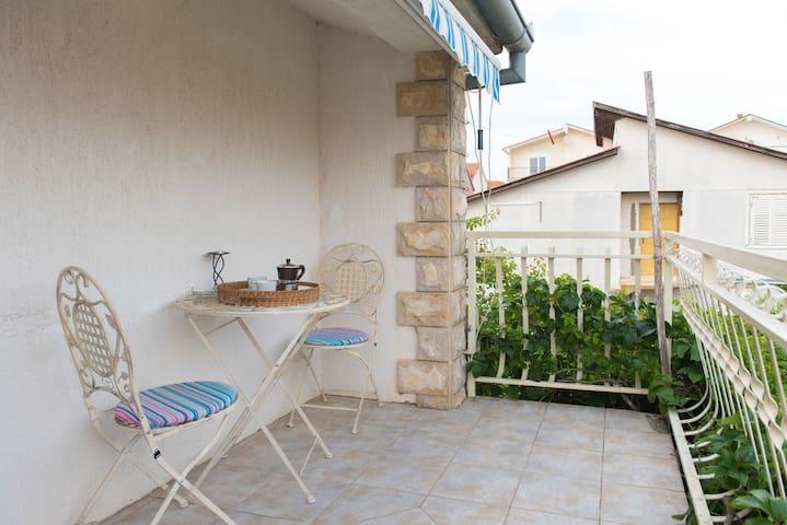 One bedroom Apartment, in Vodice, Balcony