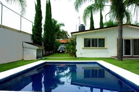 Rento hermosa casa vacacional en Oaxtepec Morelos - Cocoyoc