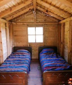 Tiny twin cabin - Bohostay Glamping