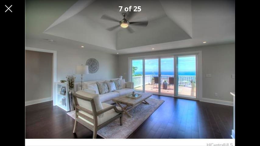Luxury King Bedroom with Ocean view - Honolulu - Casa