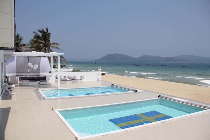 Beach front - Ganh Do Villas