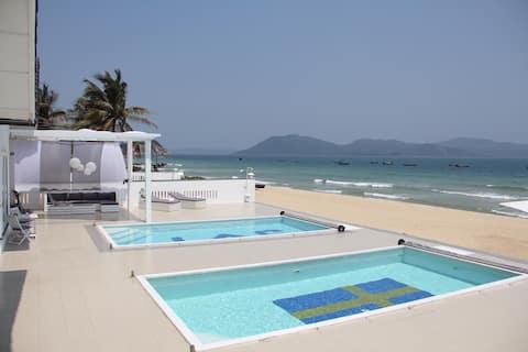 Beach front - Ganh Do Villas