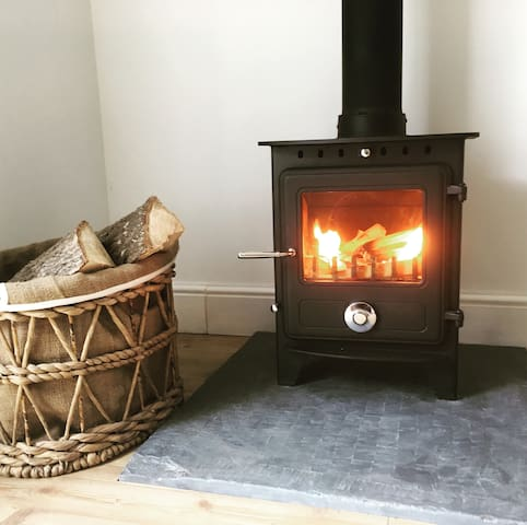 Cosy new log burner installed today!