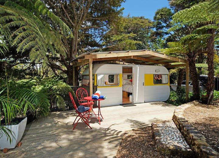 Caravan Y @ Wai-Knot Accommodation on Waiheke