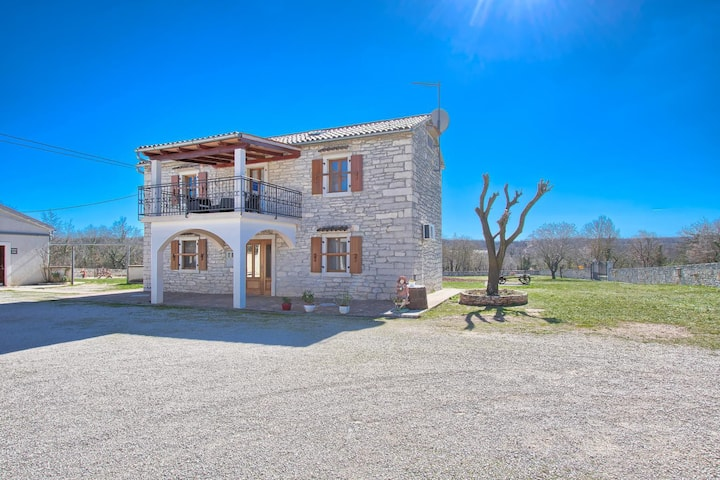 Traditional Istrian house in central Istria