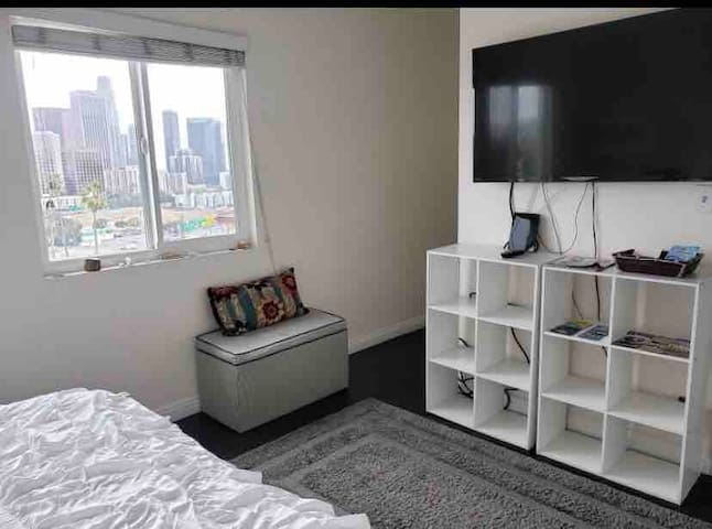 View of the City! Amazing Master Room w/Private BR