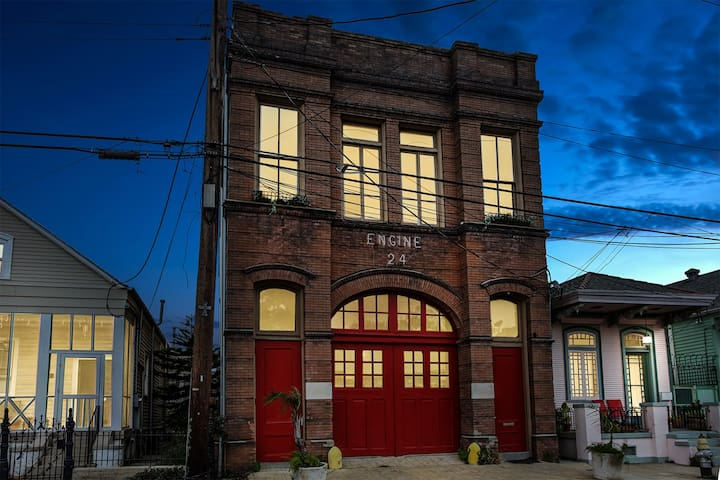 Historic Engine 24 New Orleans Firehouse