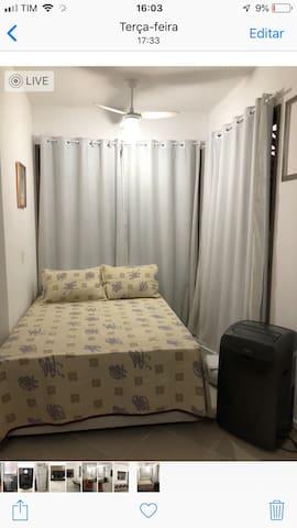 Loft confortável, completo no lugar d muito lazer