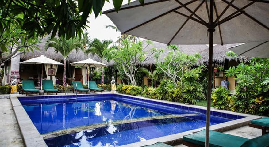 Garden villa @ famous mushroom beach Lembongan - Nusapenida - Villa
