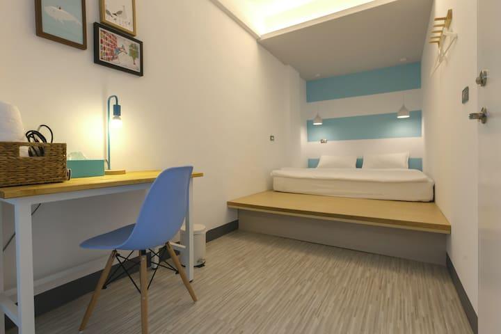 花蓮火車站-北吉光標準雙人房/Hualien Train Station Double Room