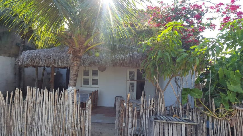 Private house ocean view + airco - Vila de Jericoacoara - Huis