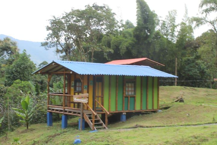 Hermosa caba a natural carriqui blockh tten zur miete for Jardin kolumbien