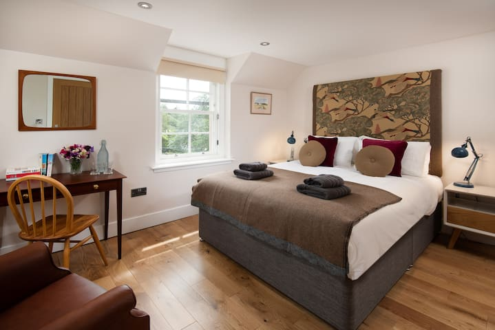 Eco-friendly room on hydro powered highland estate