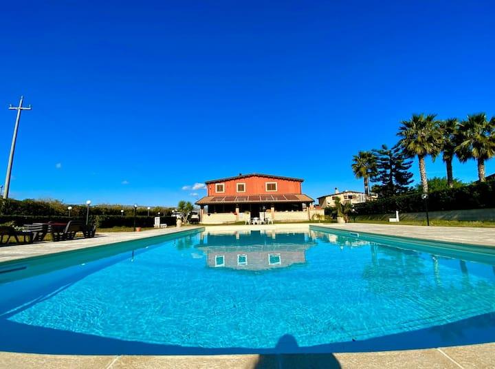 Suite in Villa profumi di Sicilia  Barocco di Noto