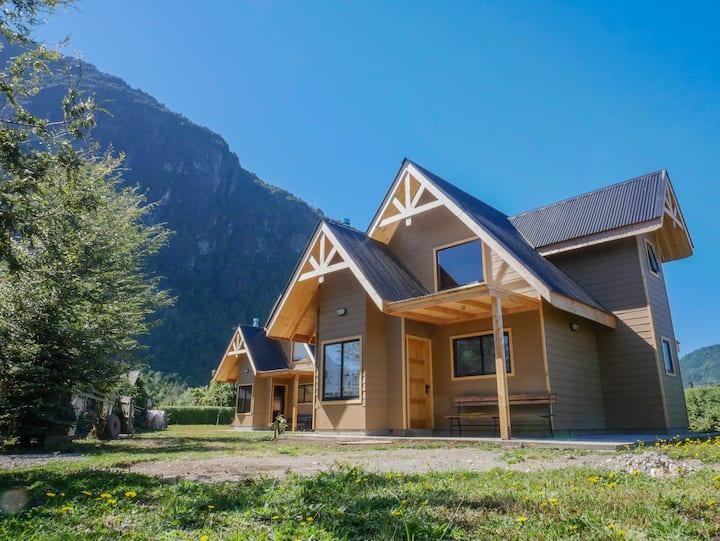 Cabañas para 6 personas, Llifen, Lago Ranco