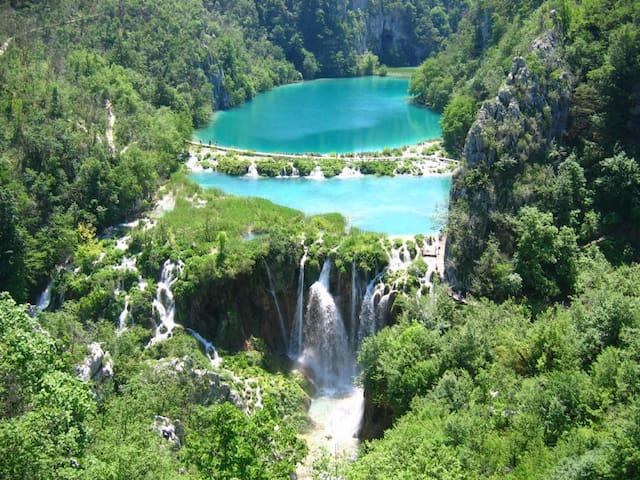 "National Park ""Plitvička jezera"" by car 40 minute"