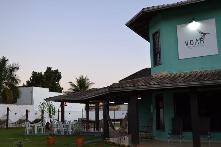 Quarto Hostel Para Até 06 Pessoas