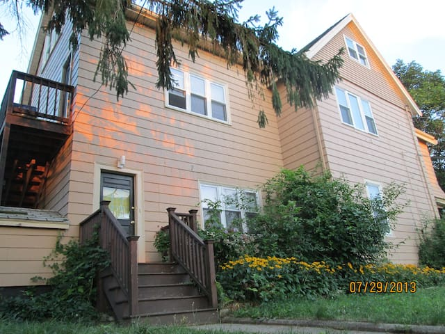 Air-con, Parking, Breakfast - MIT, Tufts, Harvard - Medford - House