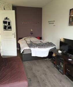 chambre au calme sur Lille avec jardin - Lille