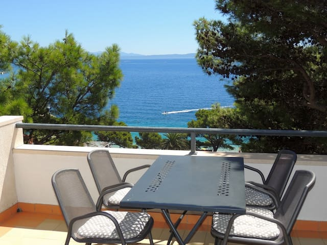 Seaview apartment for 2+2 persons - Brela - Apartment