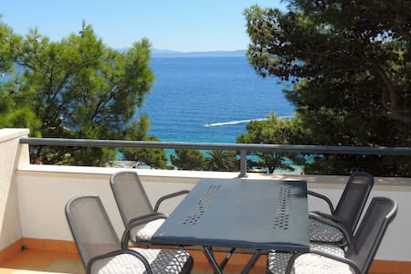 Seaview apartment for 2+2 persons - Brela - Appartement