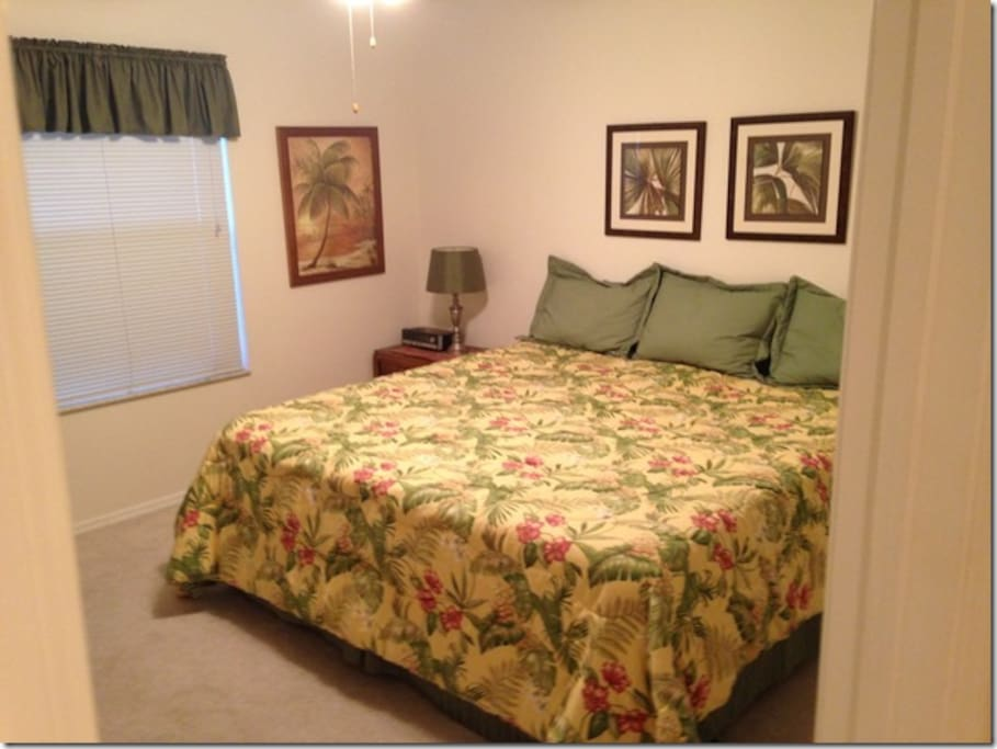Guest Bedroom with King !